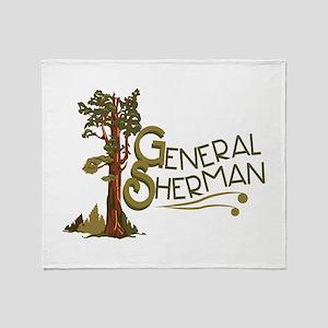 General Sherman Throw Blanket