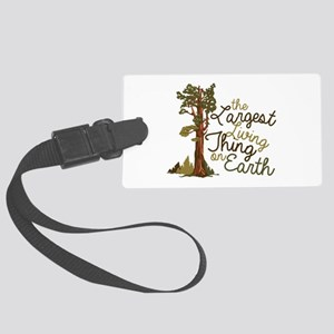Largest Living Thing Luggage Tag