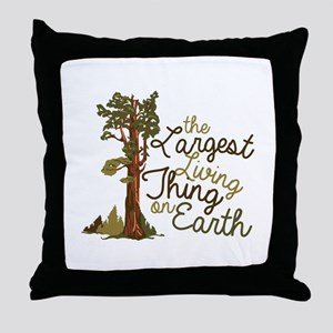 Largest Living Thing Throw Pillow