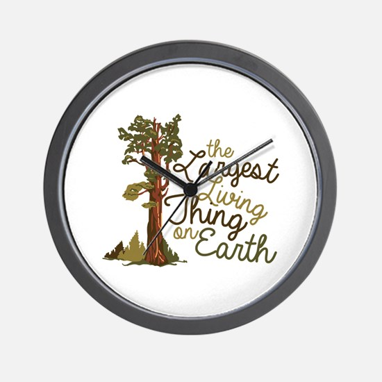 Largest Living Thing Wall Clock