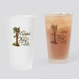 Largest Living Thing Drinking Glass