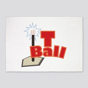 T-Ball 5'x7'Area Rug