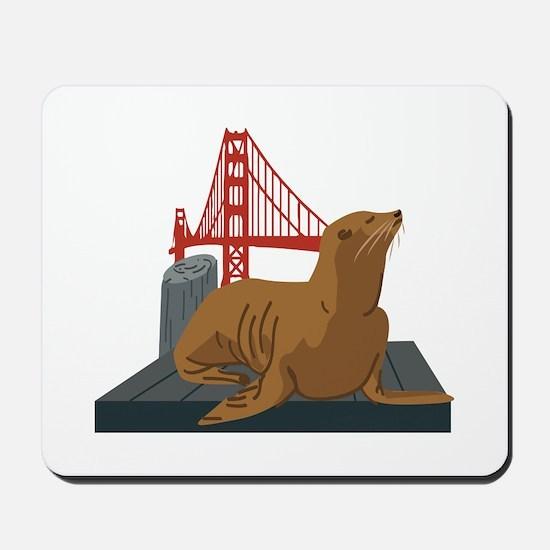 San Francisco Seals Mousepad