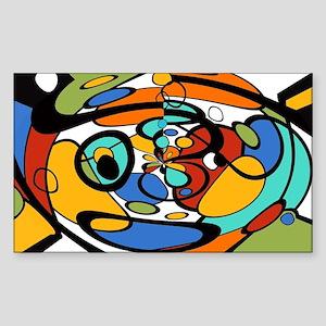 Artist Picasso Graphic Modern Art Design b Sticker