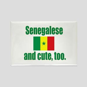 Cute Senegalese Rectangle Magnet