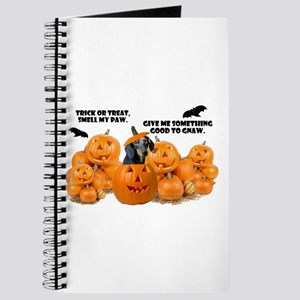 Dachshund Halloween (Black & Tan) Journal