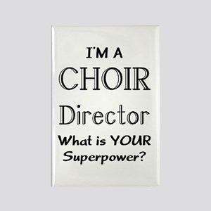 choir director Rectangle Magnet