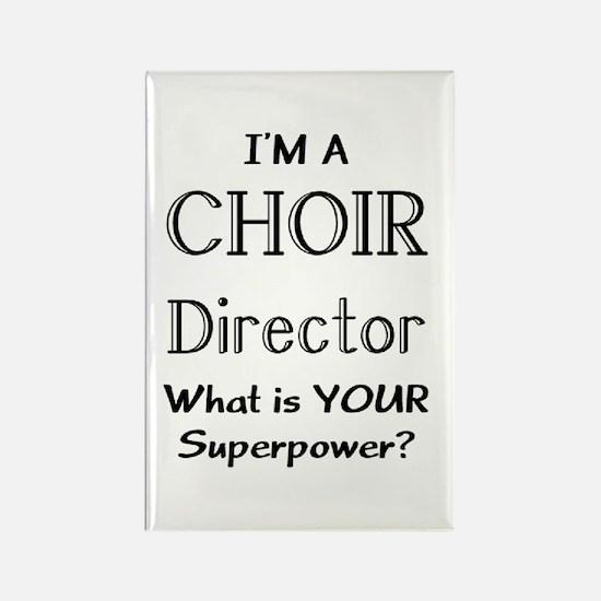 choir director Rectangle Magnet
