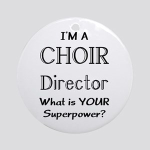 choir director Ornament (Round)