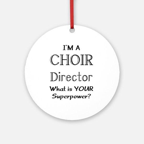 choir director Ornament (Round)