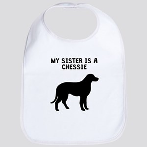 My Sister Is A Chessie Bib