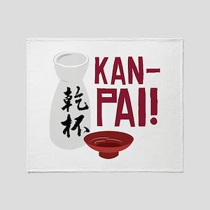 Kan-Pai Throw Blanket