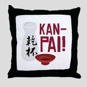 Kan-Pai Throw Pillow