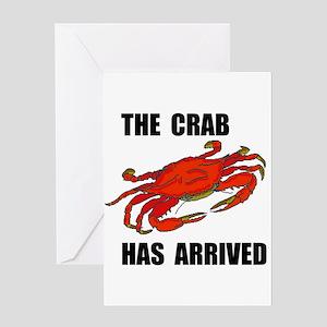 CRAB Greeting Card