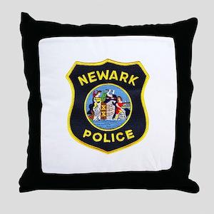 Newark Police Throw Pillow