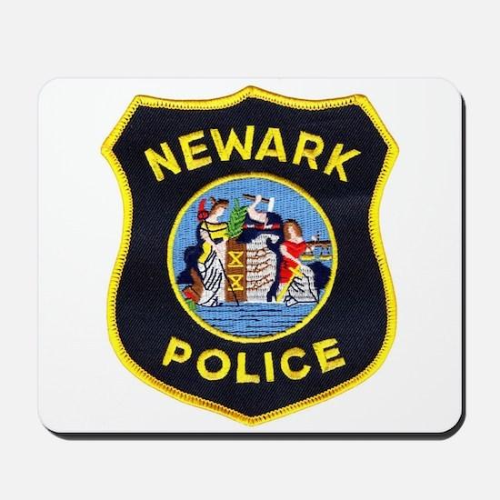 Newark Police Mousepad