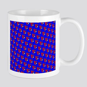 Blue Red Cute Lobster D Stainless Steel Trave Mugs