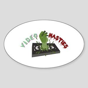 Video Nasties Sticker