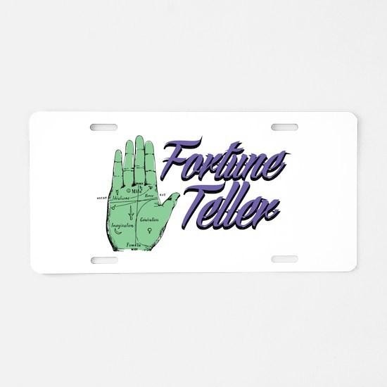 Fortune Teller Aluminum License Plate