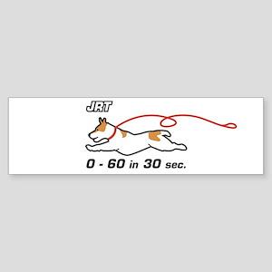 JRT 0-60 Bumper Sticker