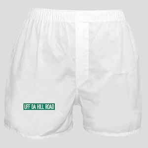 Uff Da Hill Road, Orcas (WA) Boxer Shorts