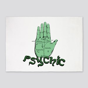 Psychic 5'x7'Area Rug