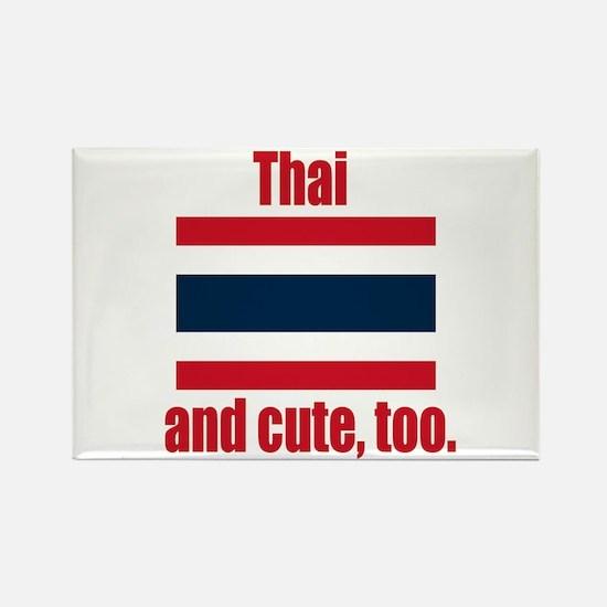 Cute Thai Rectangle Magnet