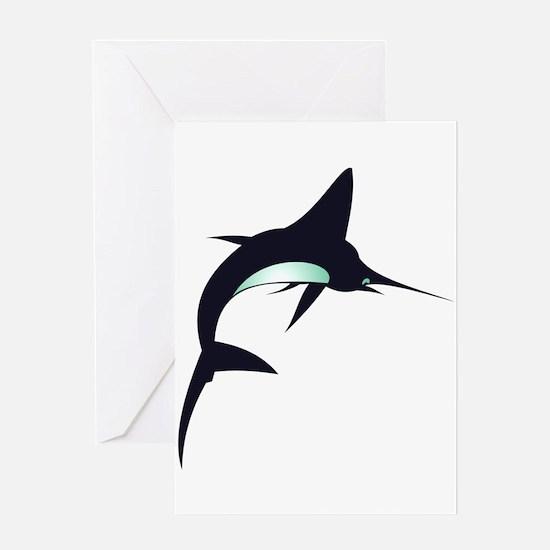 Swordfish Greeting Cards