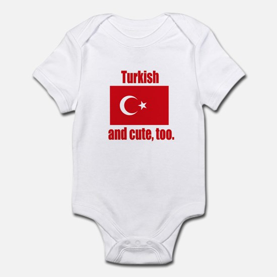 Turklsh Cute Infant Bodysuit