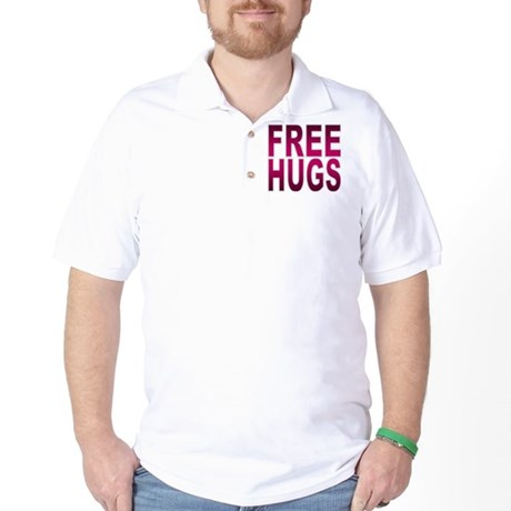 Free Hugs Golf Shirt