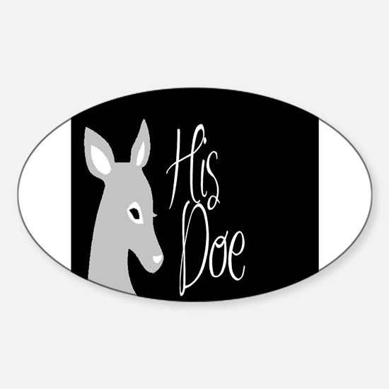 his doe Decal