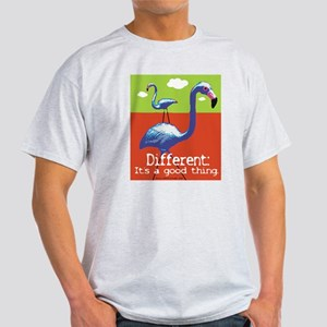 A Different Flamingo Light T-Shirt