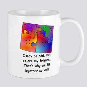 Friend Puzzle Mugs