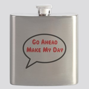 Go ahead make my day Flask