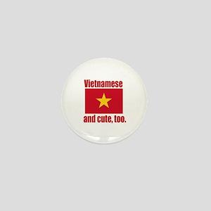 Cute Vietnamese Mini Button