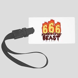 Number Of Beast Luggage Tag