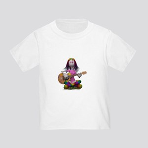 Hippy Chick ~ Peace and Love T-Shirt