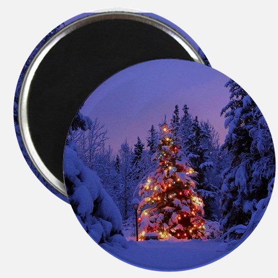 Christmas Tree With Lights Magnets