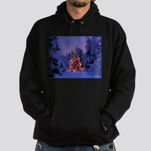 Christmas Tree With Lights Hoody