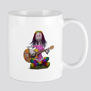 Hippy Chick ~ Peace and Love Mugs