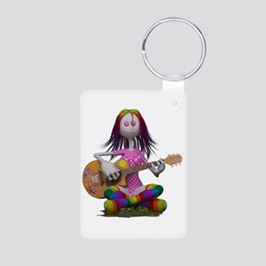 Hippy Chick ~ Peace and Love Keychains