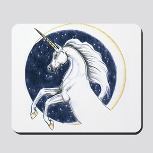 Unicorn Moon Mousepad