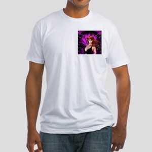 AMETHYST ROSE GARDEN Fitted T-Shirt