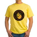 MOTHER IS A WITCH Yellow T-Shirt