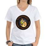 MOTHER IS A WITCH Women's V-Neck T-Shirt