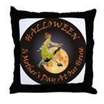 MOTHER IS A WITCH Throw Pillow