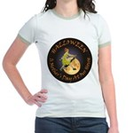 MOTHER IS A WITCH Jr. Ringer T-Shirt