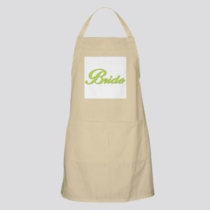 Bride (Green) BBQ Apron