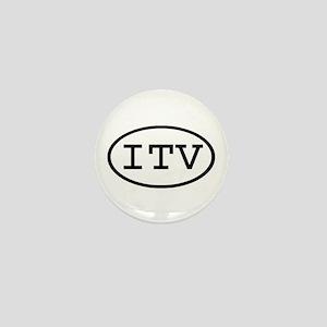 ITV Oval Mini Button
