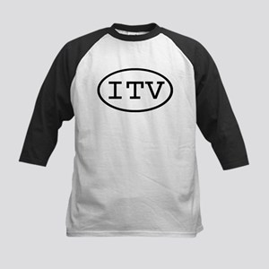 ITV Oval Kids Baseball Jersey
